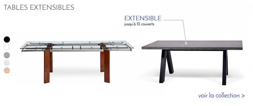 table industrielle extensible table salle a manger. Black Bedroom Furniture Sets. Home Design Ideas