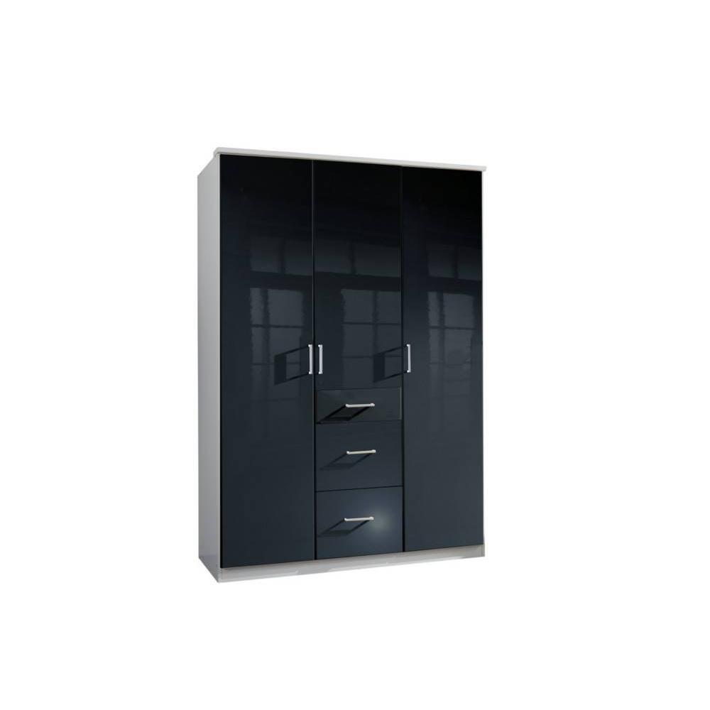 Dressings et armoires meubles et rangements armoire for Armoire penderie deux portes