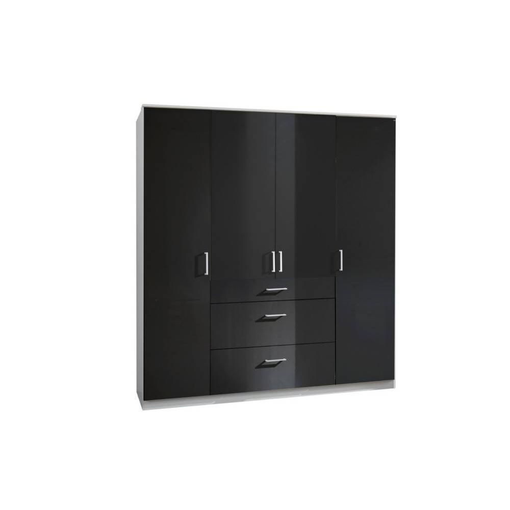 armoire noire but awesome medium size of armoire coulissante avec miroir pas cher conforama. Black Bedroom Furniture Sets. Home Design Ideas