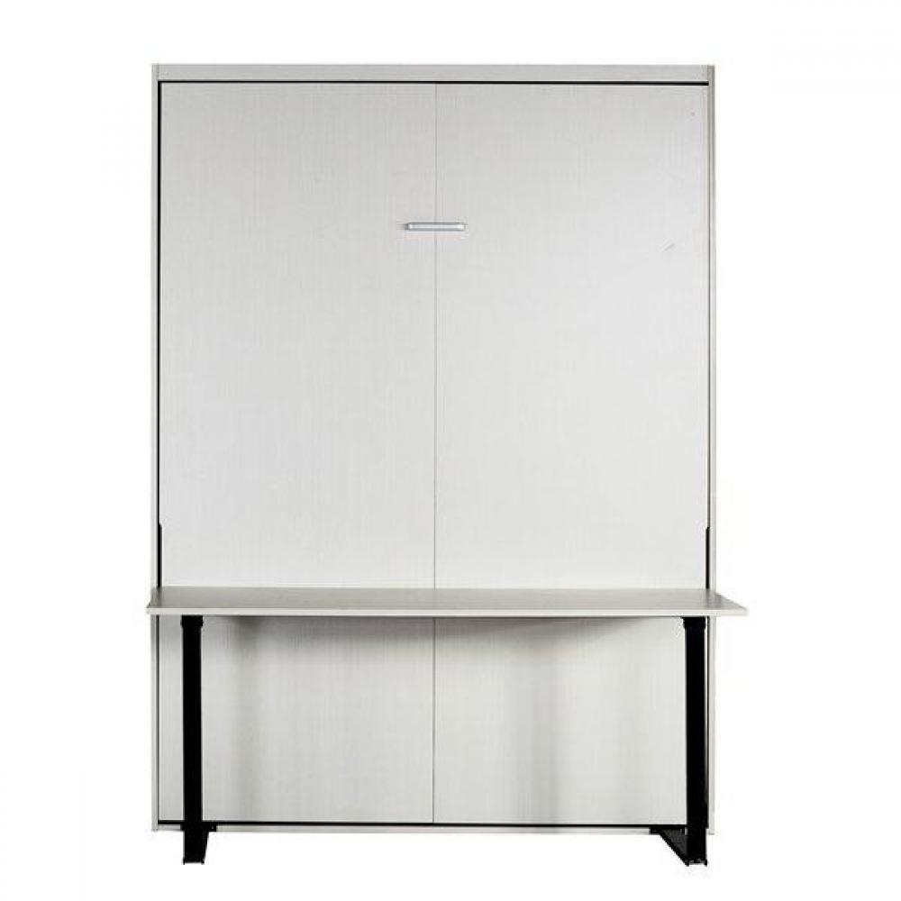 Lits escamotables armoires lits escamotables armoire lit for Armoire bureau blanc