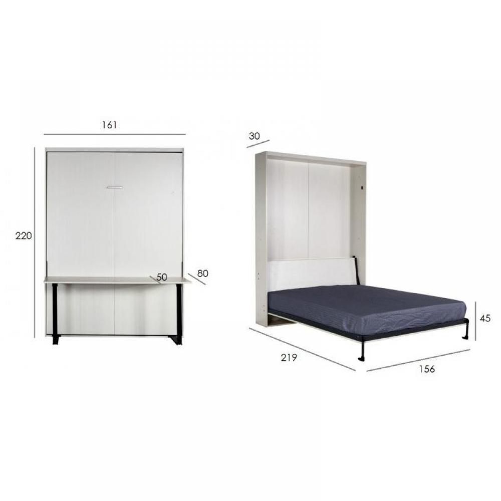 Lits escamotables armoires lits escamotables armoire lit bureau escamotable - Lit escamotable bureau ...