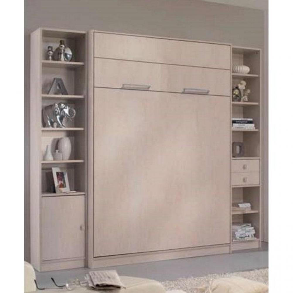 armoire lit verticale armoires lits escamotables armoire lit escamotable milan 2 colonnes. Black Bedroom Furniture Sets. Home Design Ideas