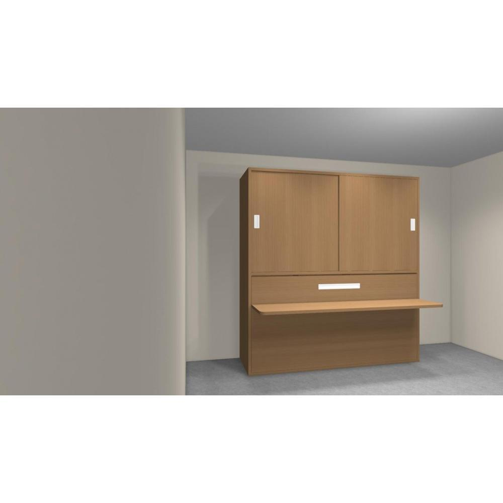 armoire lit 1 place armoires lits escamotables armoire lit transversale accura couchage 90. Black Bedroom Furniture Sets. Home Design Ideas