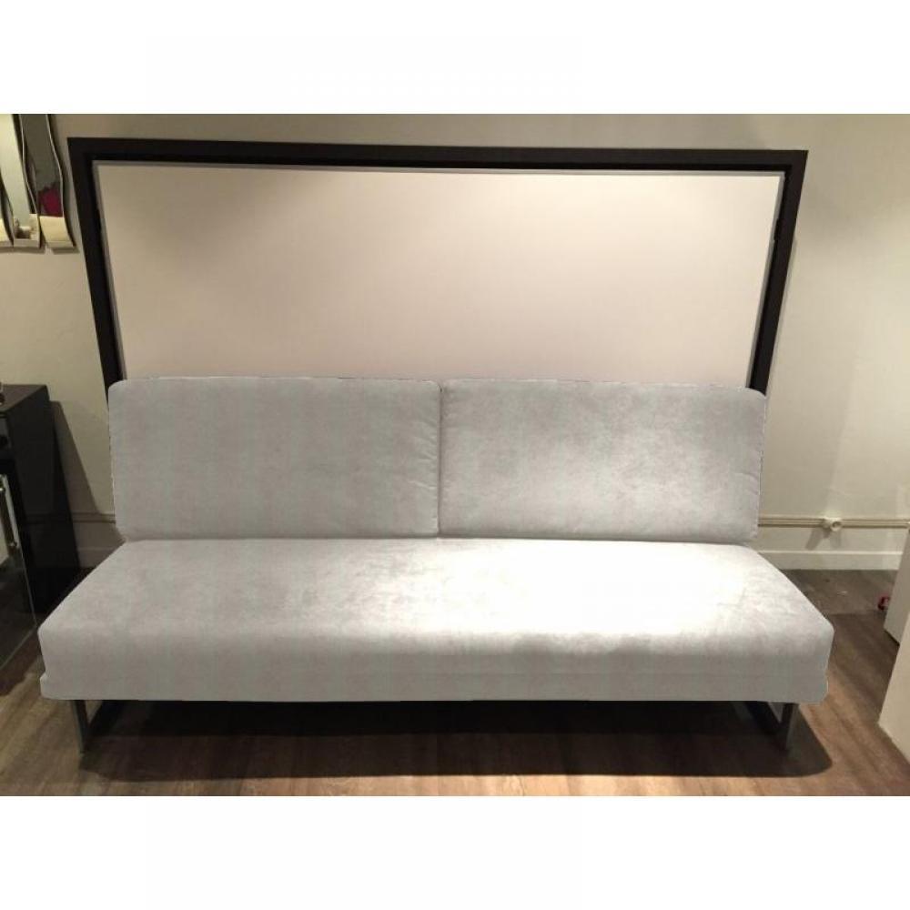 Lits escamotables armoires lits escamotables armoire lit transversale magic structure weng for Armoire lit canape