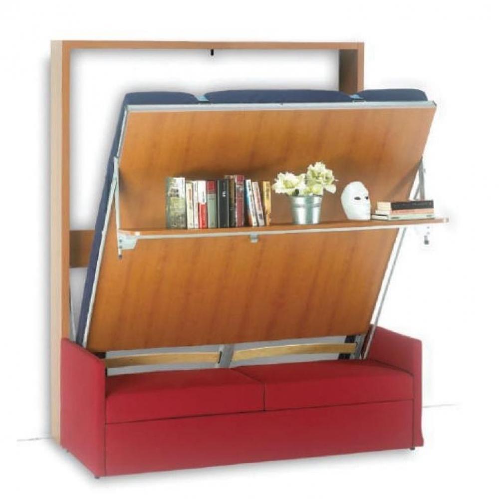 Armoire lit canap armoires lits escamotables armoire lit verticale luxury canap int gr for Armoire lit canape
