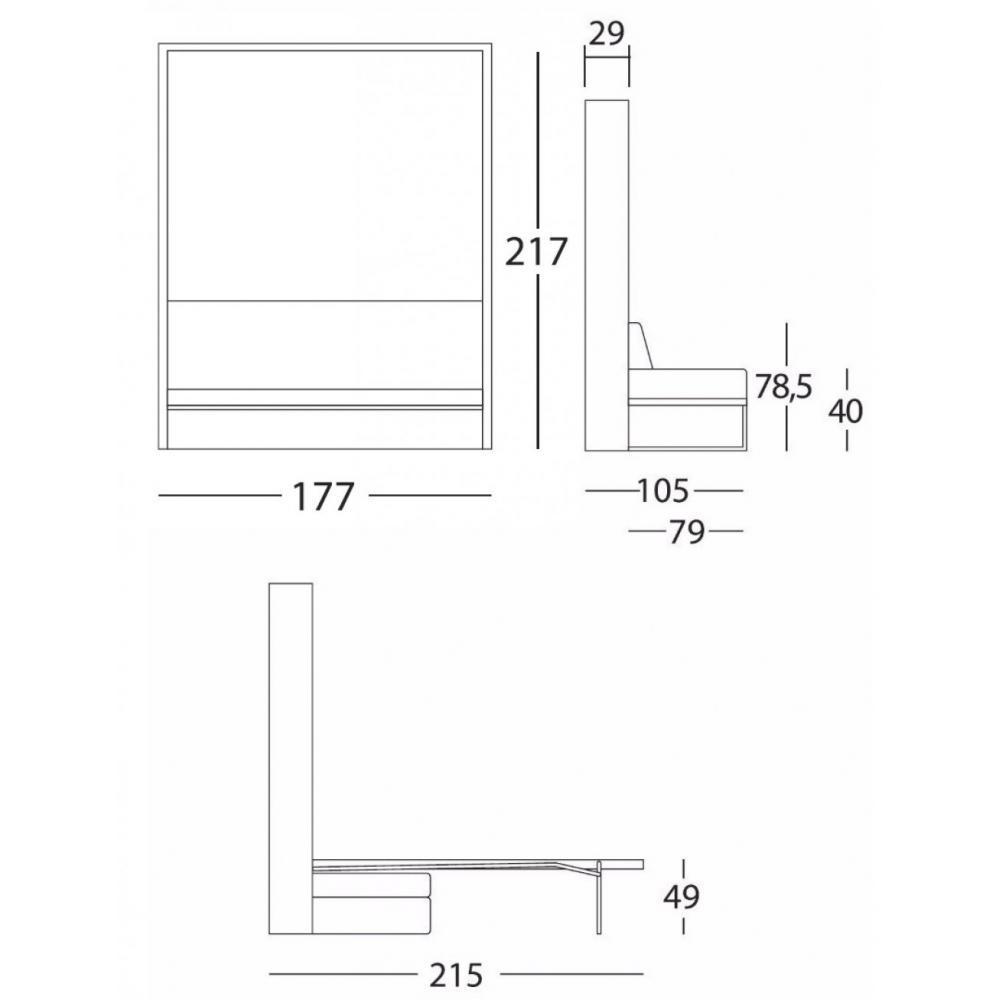 armoire lit canap armoires lits escamotables magic. Black Bedroom Furniture Sets. Home Design Ideas