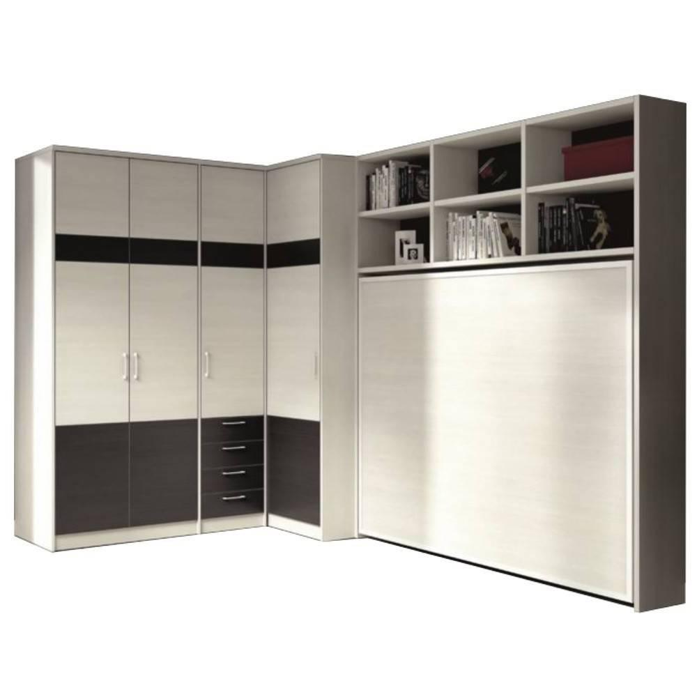 lits escamotables armoires lits escamotables armoire lit escamotable athena avec dressing et. Black Bedroom Furniture Sets. Home Design Ideas
