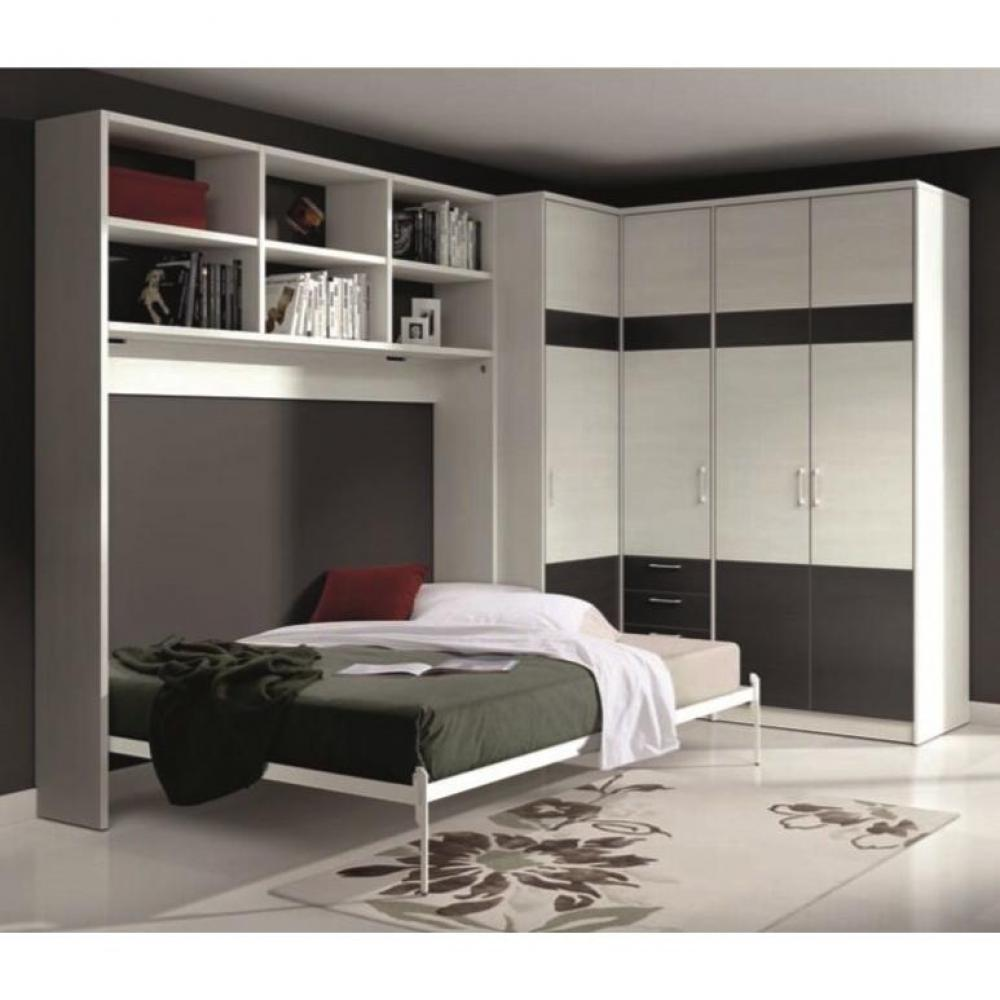 armoire lit transversale armoires lits escamotables. Black Bedroom Furniture Sets. Home Design Ideas