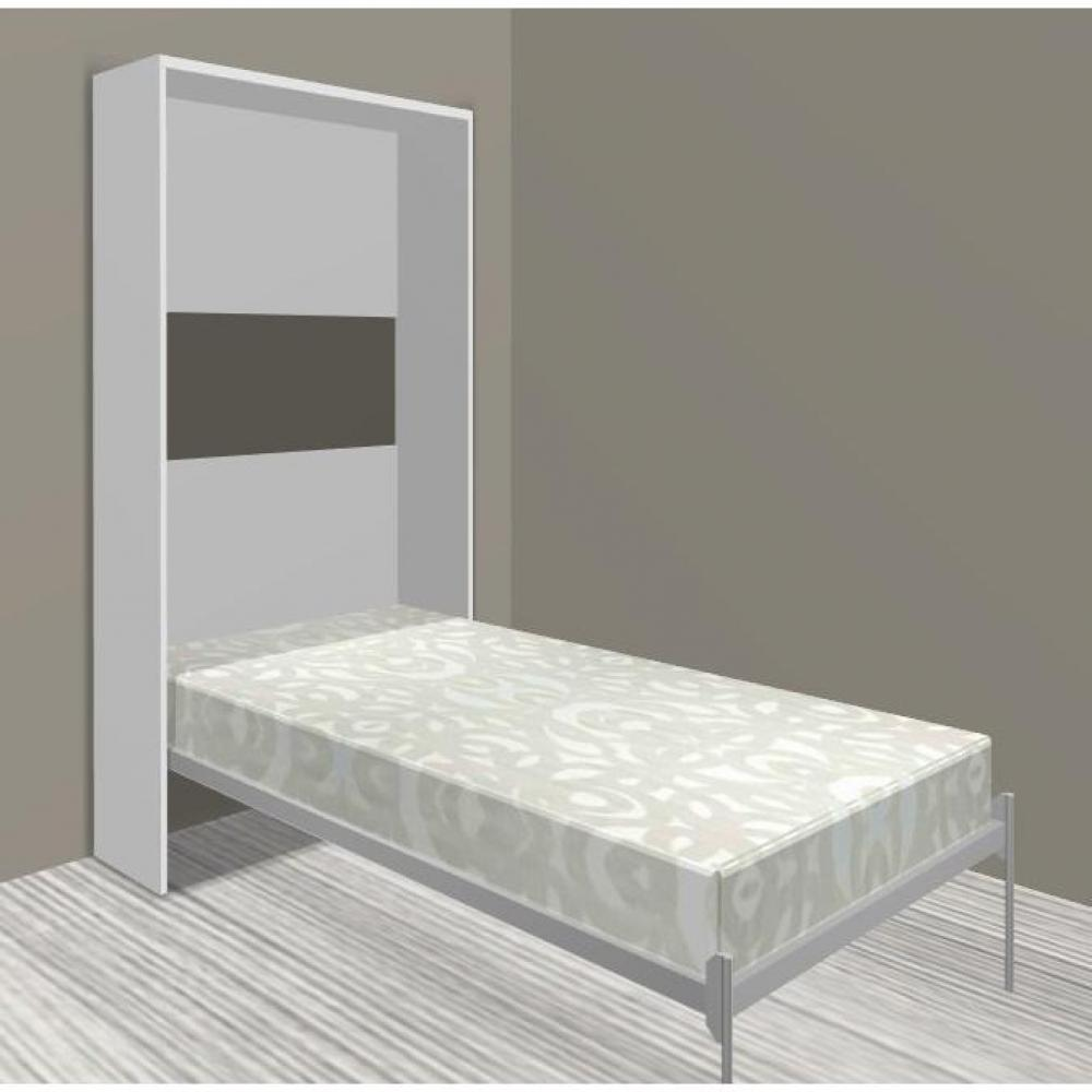 Lits escamotables armoires lits escamotables armoire lit escamotable cronos - Structure lit escamotable ...