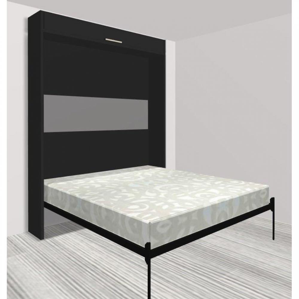 armoire lit verticale armoires lits escamotables armoire lit escamotable eos couchage 160 200cm. Black Bedroom Furniture Sets. Home Design Ideas