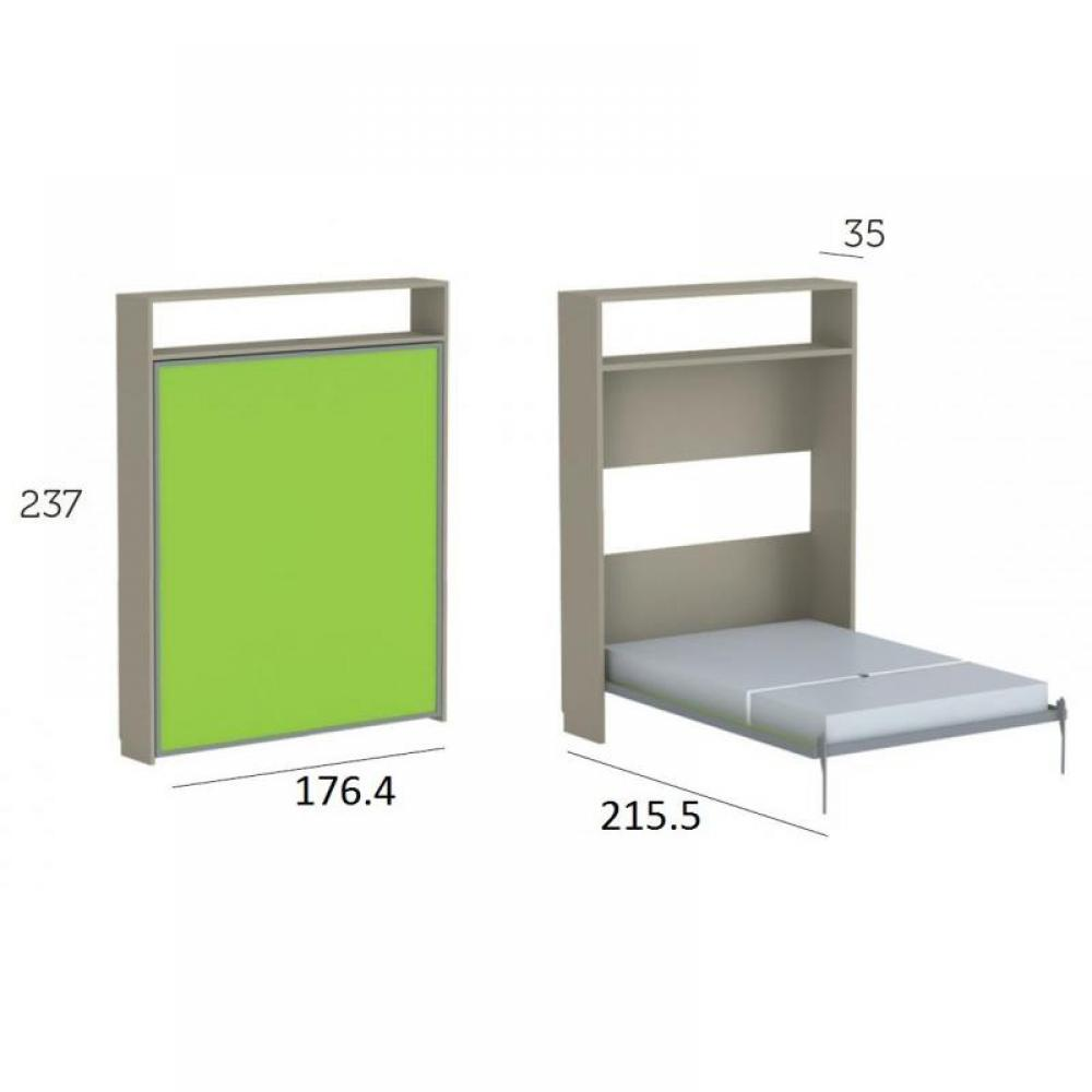 Lits escamotables armoires lits escamotables armoire lit escamotable eos co - Structure lit escamotable ...