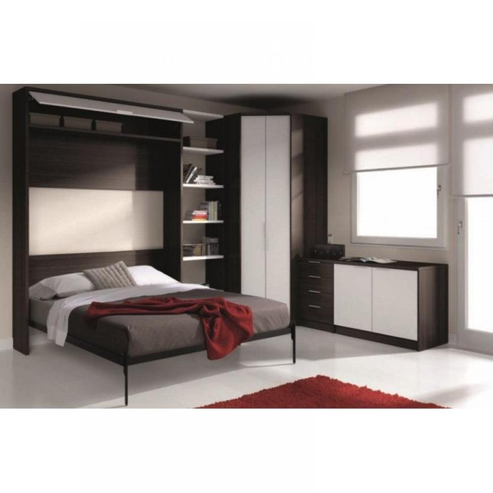 armoire lit verticale armoires lits escamotables armoire lit escamotable eros avec rangements. Black Bedroom Furniture Sets. Home Design Ideas