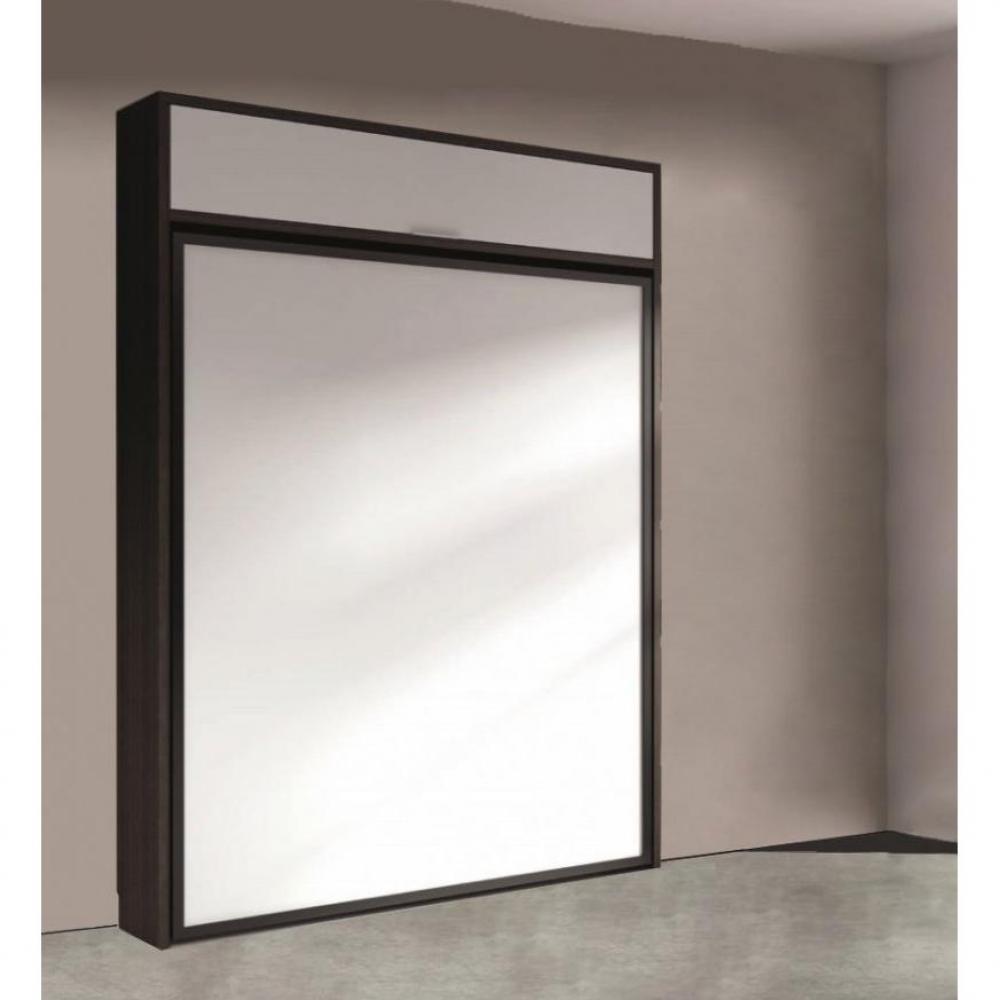Armoire lit transversale armoires lits escamotables armoire lit escamotable - Structure lit escamotable ...