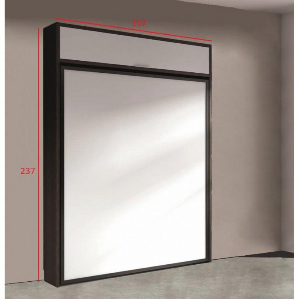 Lits escamotables armoires lits escamotables armoire lit escamotable eros - Structure lit escamotable ...