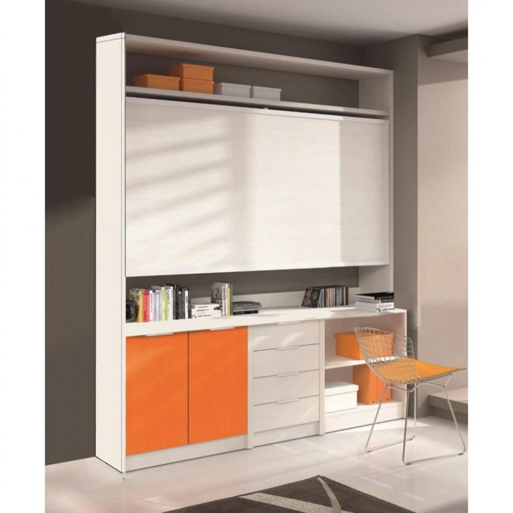 lits escamotables armoires lits escamotables armoire lit transversale artemis avec bureau et. Black Bedroom Furniture Sets. Home Design Ideas