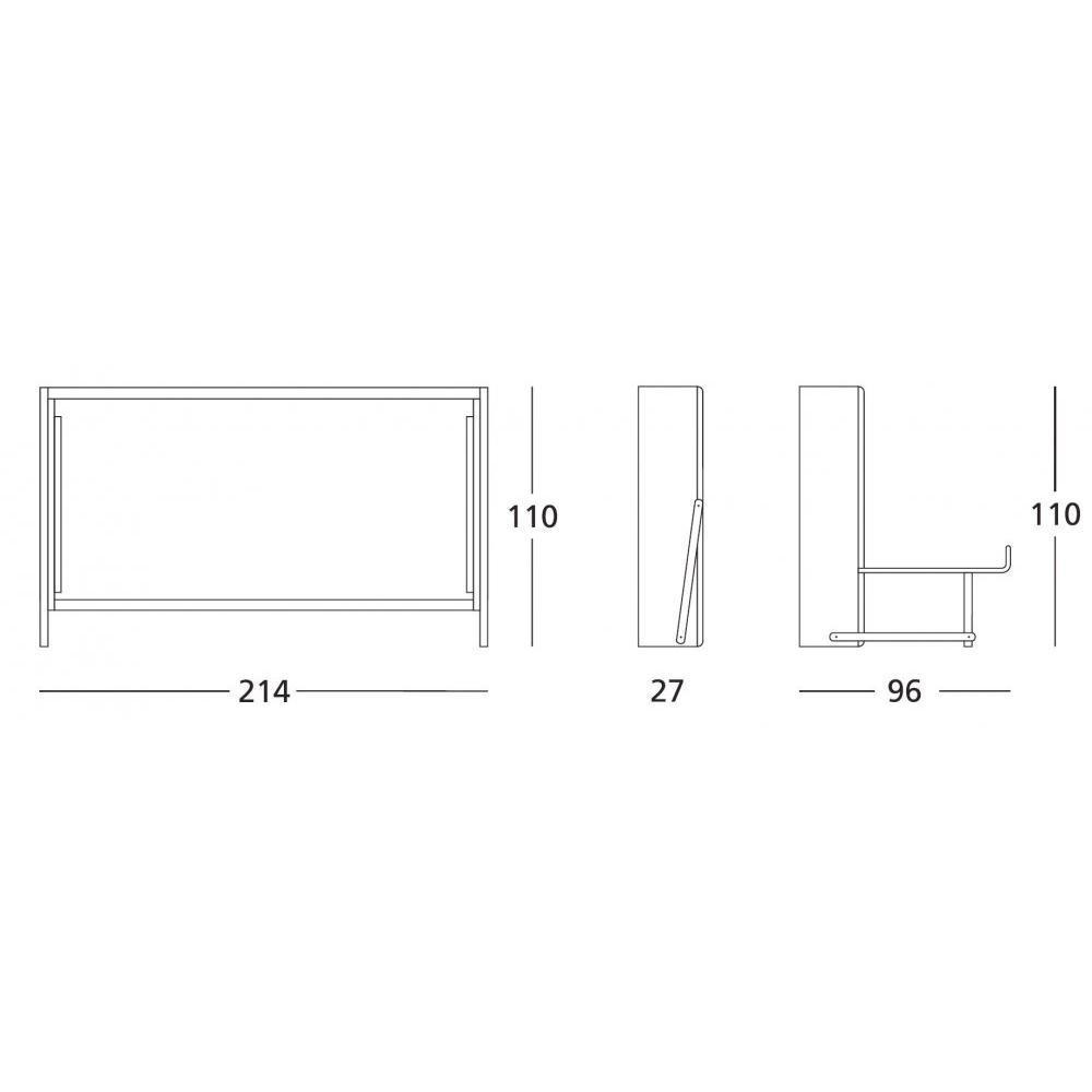 lits escamotables armoires lits escamotables fly armoire lit escamotable transversale couchage. Black Bedroom Furniture Sets. Home Design Ideas