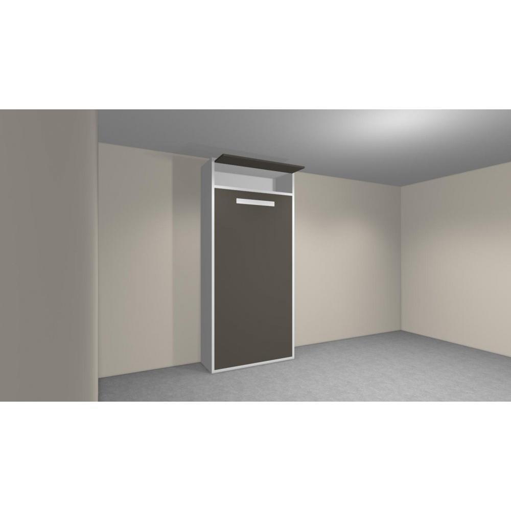 armoire lit 1 place armoires lits escamotables armoire lit verticale ayate couchage 90 190cm. Black Bedroom Furniture Sets. Home Design Ideas