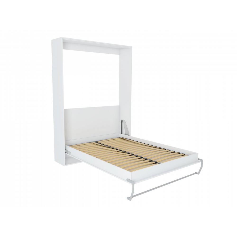 Armoire lit verticale armoires lits escamotables armoire lit escamotable smart blanc mat - Armoire lit escamotable but ...