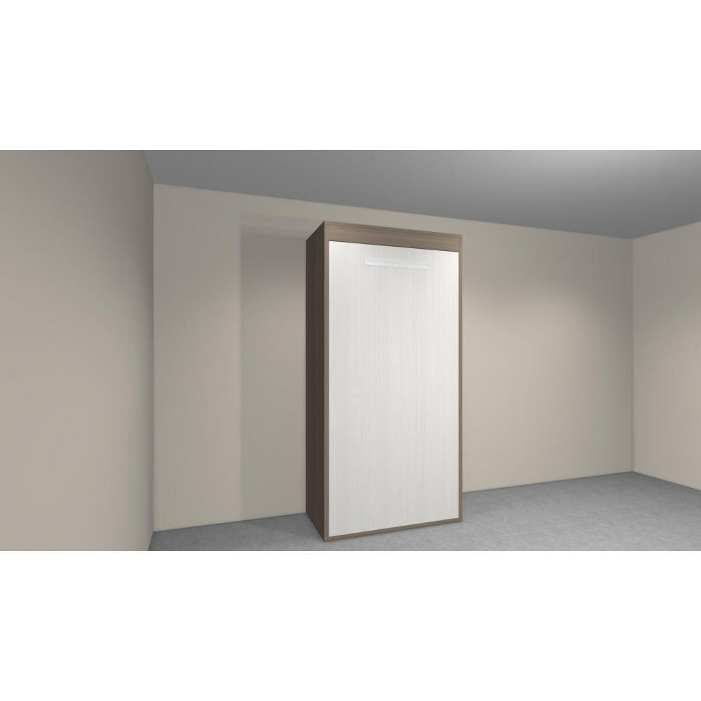armoire lit 1 place armoires lits escamotables armoire lit verticale agata couchage 90 140cm. Black Bedroom Furniture Sets. Home Design Ideas