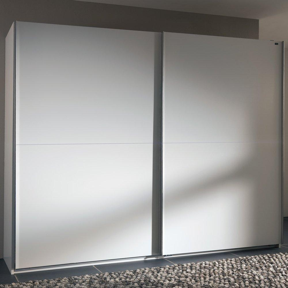 Dressings et armoires chambre literie dressing portes coullissantes - Armoire blanche coulissante ...