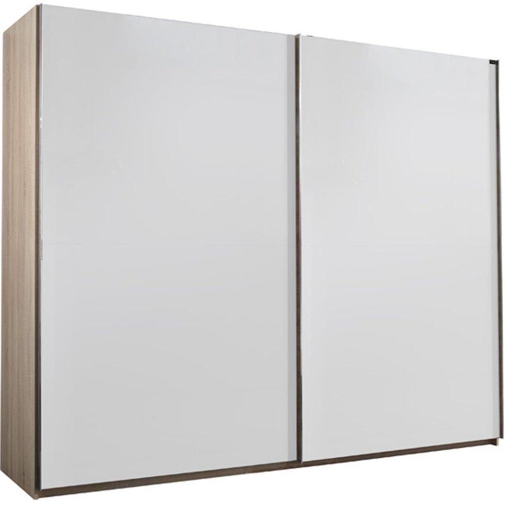 dressings et armoires meubles et rangements dressing portes coulissantes light 300 blanc et. Black Bedroom Furniture Sets. Home Design Ideas