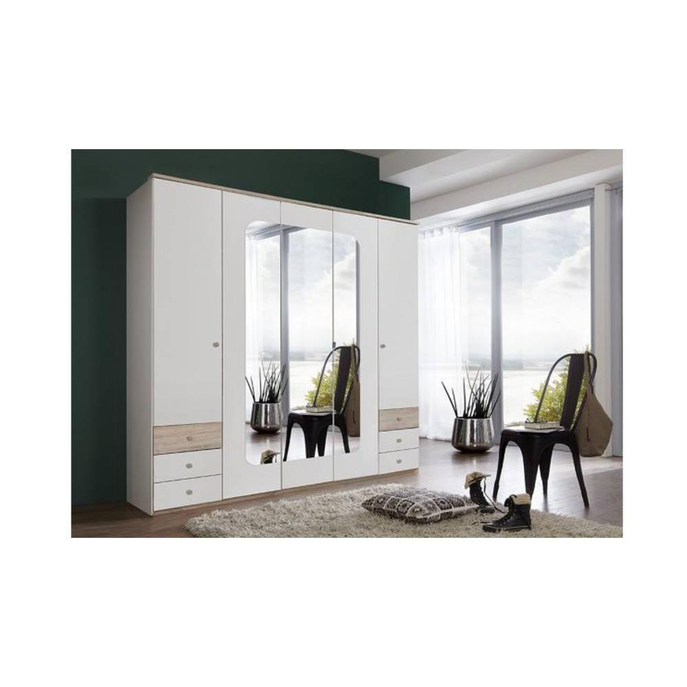 lits chambre literie lit viborg style scandinave inside75. Black Bedroom Furniture Sets. Home Design Ideas