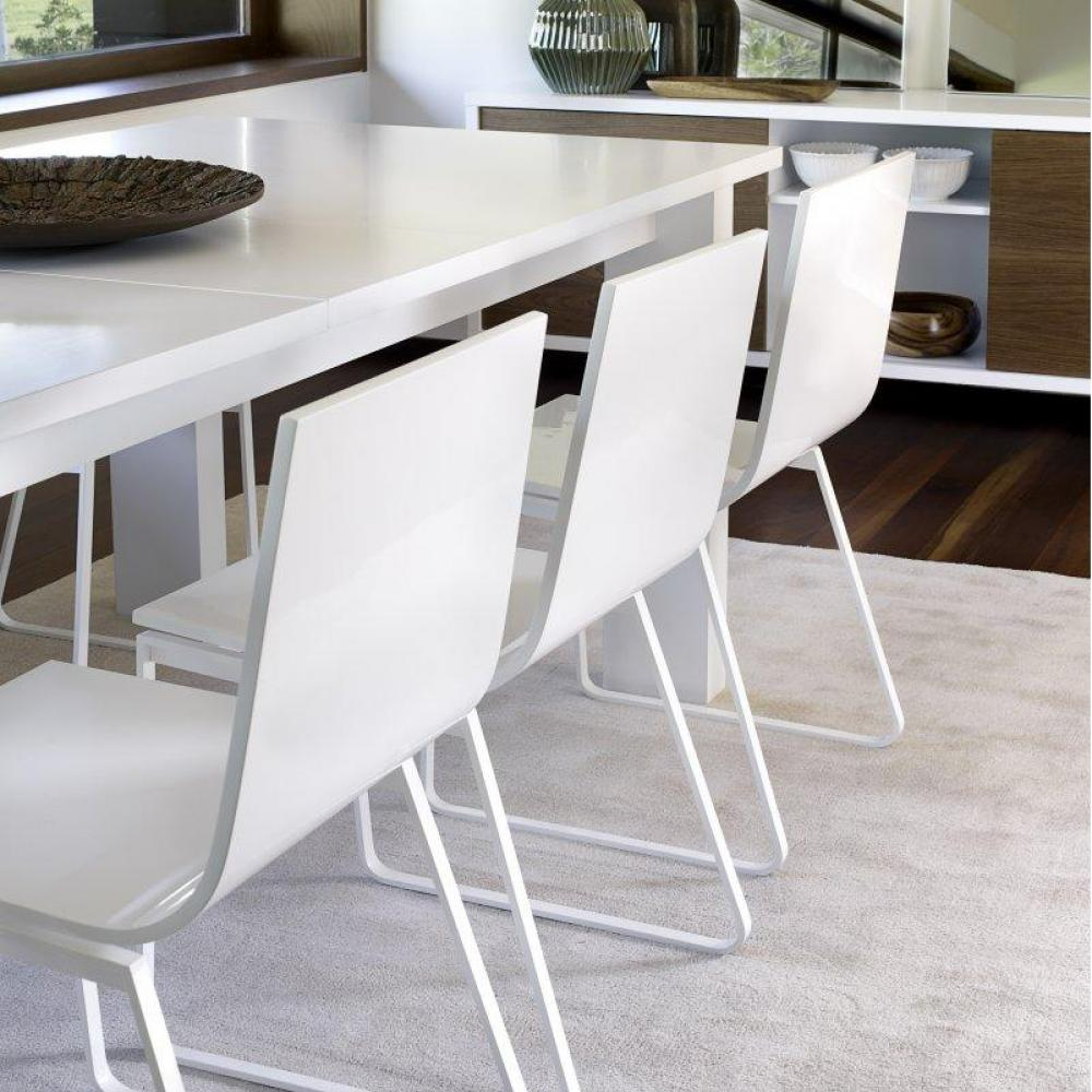 Tables repas tables et chaises atoll table repas for Table blanc mat