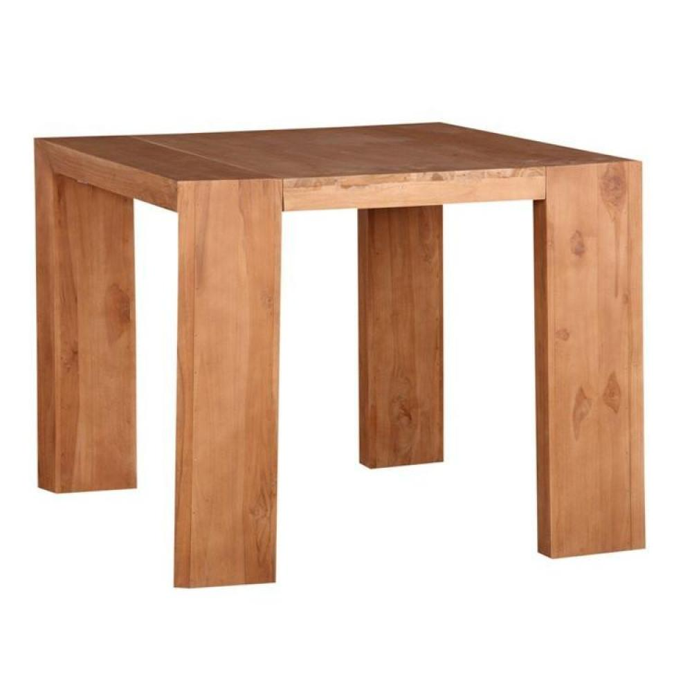 Table console bois extensible for Table extensible design bois