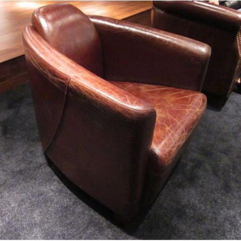 Canap s club canap s et convertibles fauteuil en cuir aviateur style vintage - Fauteuil club aviateur ...