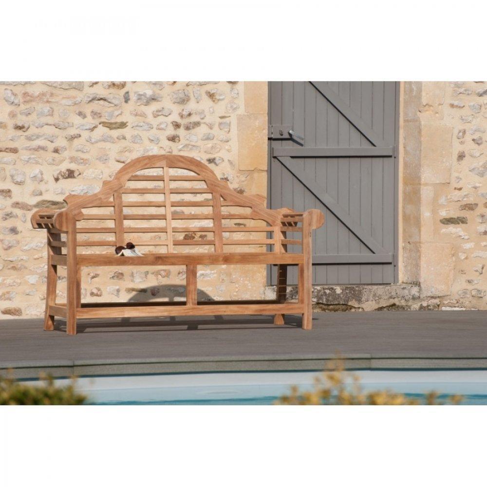 Bancs de jardin tables et chaises banc de jardin sumatra for Banc en teck pour jardin