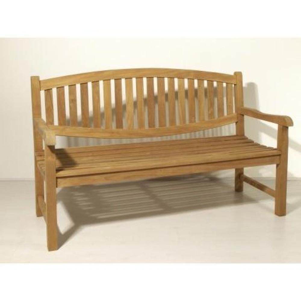 chaises meubles et rangements banc indon sien de jardin fun style colonial en teck. Black Bedroom Furniture Sets. Home Design Ideas