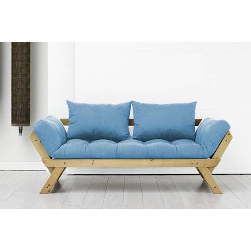canap s futon canap s et convertibles banquette m ridienne pin massif miel futon azur bebop. Black Bedroom Furniture Sets. Home Design Ideas