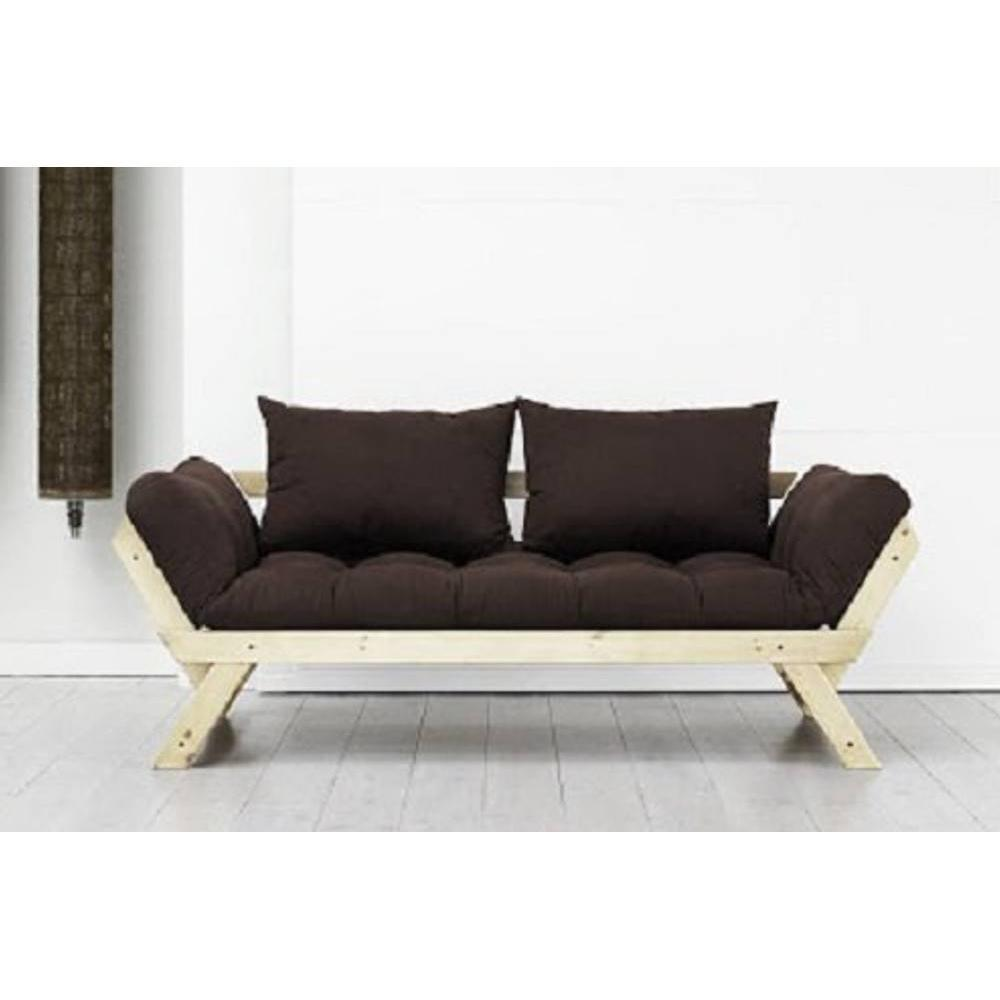 canap s futon canap s et convertibles banquette m ridienne style scandinave futon marron bebop. Black Bedroom Furniture Sets. Home Design Ideas