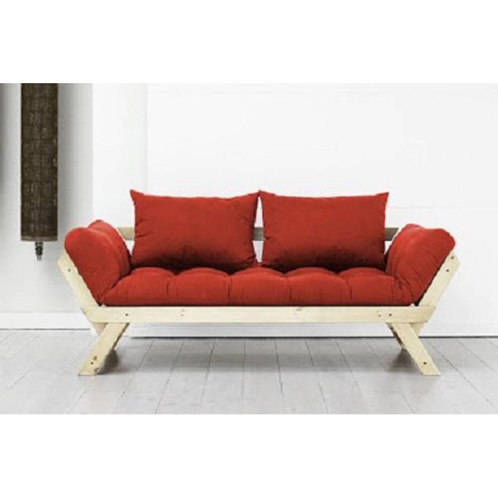 canap s futon canap s et convertibles banquette m ridienne style scandinave futon rouge bebop. Black Bedroom Furniture Sets. Home Design Ideas