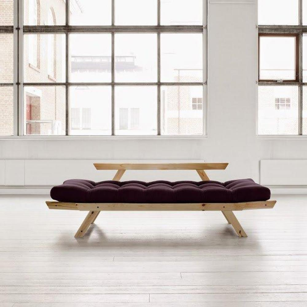 canap s futon canap s et convertibles banquette m ridienne style scandinave futon violet bebop. Black Bedroom Furniture Sets. Home Design Ideas