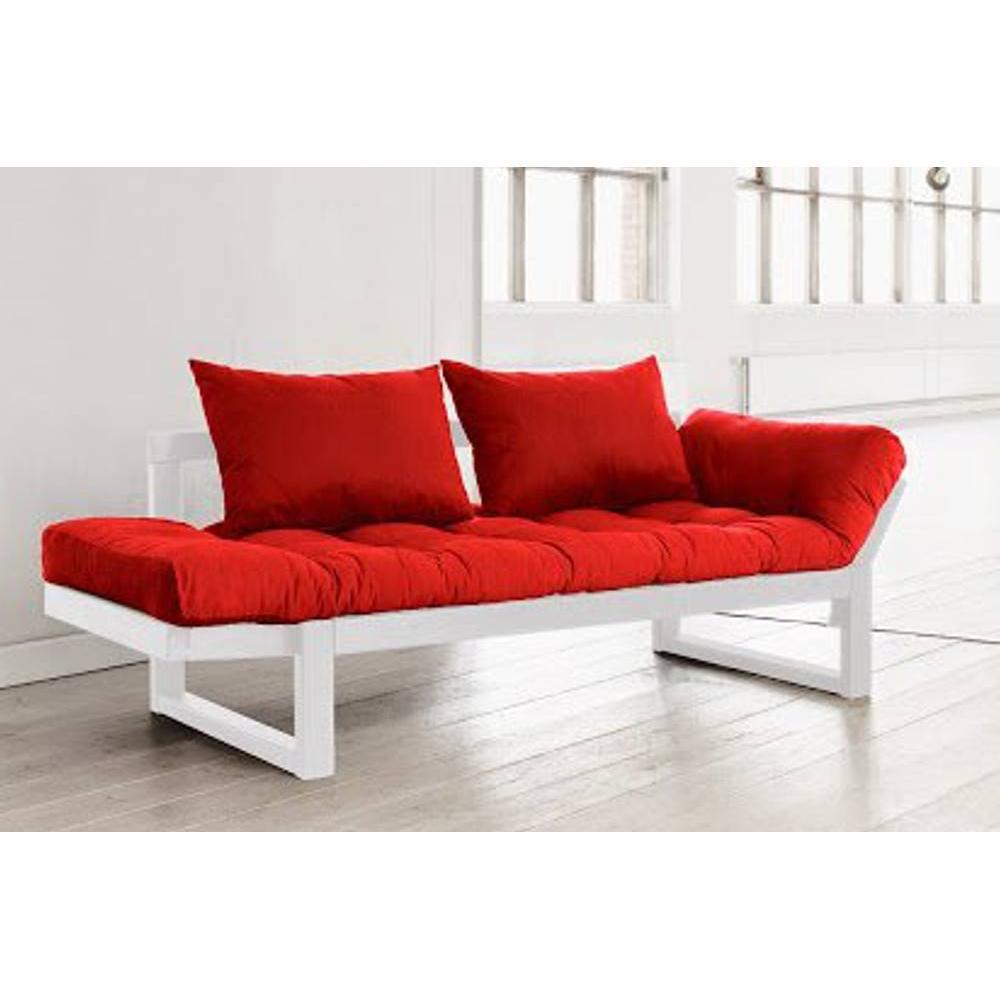 canap s futon canap s et convertibles banquette m ridienne blanche futon rouge edge couchage. Black Bedroom Furniture Sets. Home Design Ideas