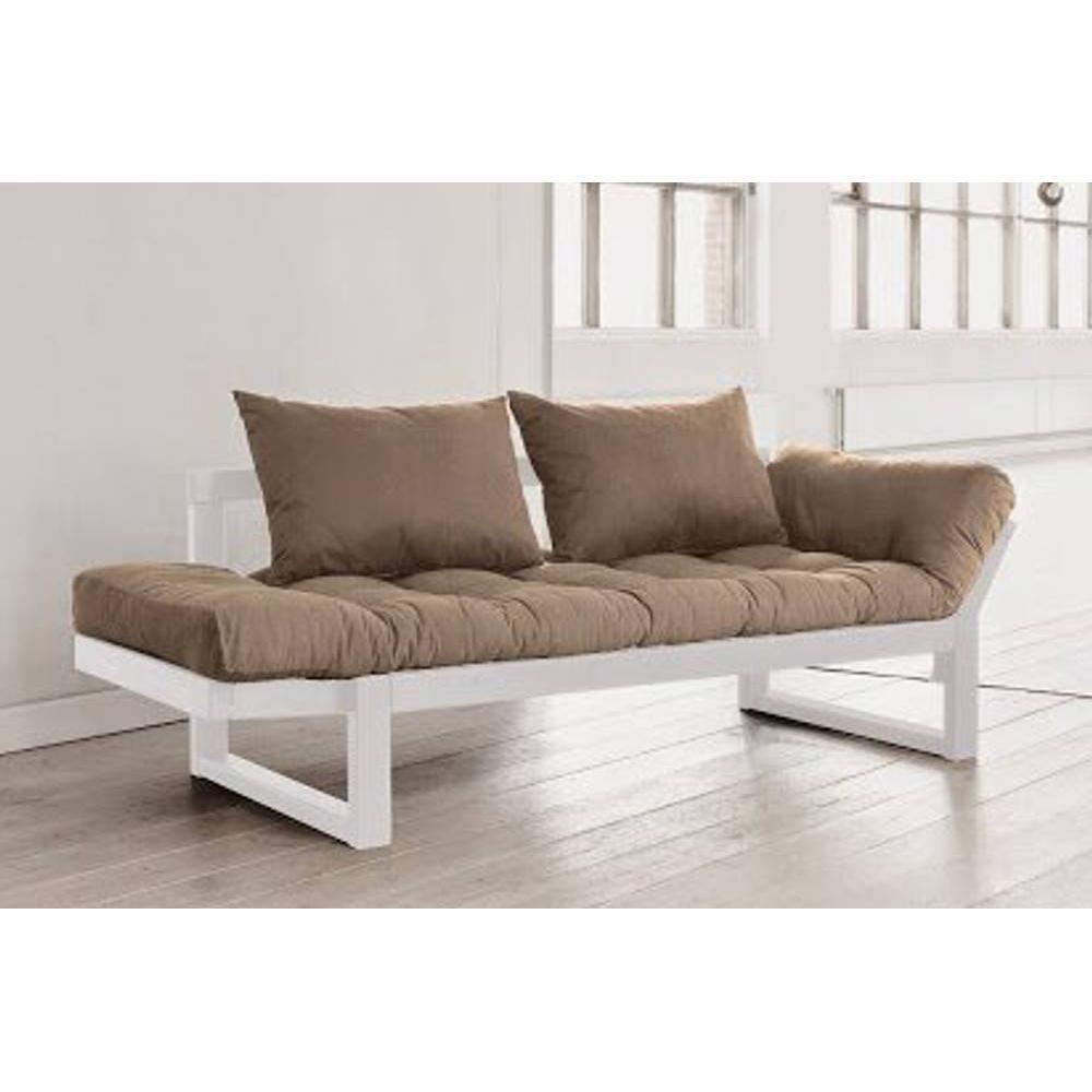 canap s futon canap s et convertibles banquette m ridienne blanche futon taupe edge couchage. Black Bedroom Furniture Sets. Home Design Ideas