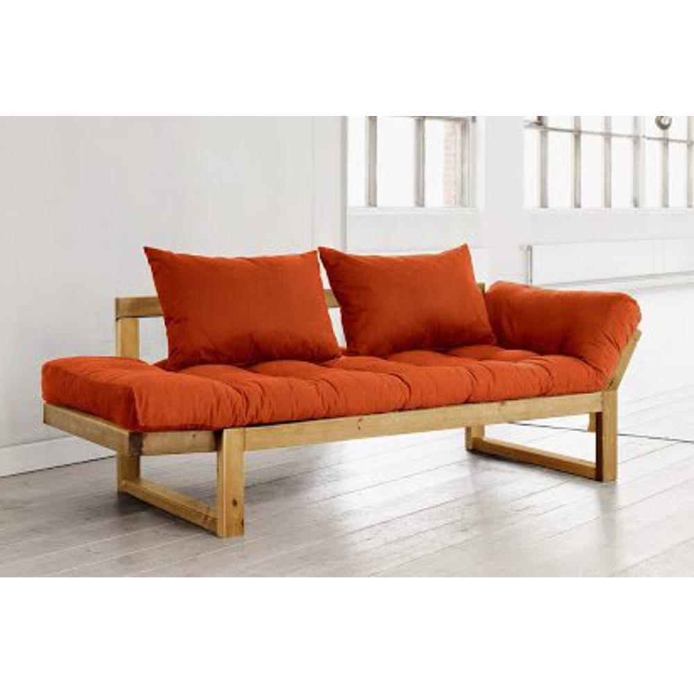 canap s futon canap s syst me rapido banquette m ridienne pin massif miel futon orange edge. Black Bedroom Furniture Sets. Home Design Ideas
