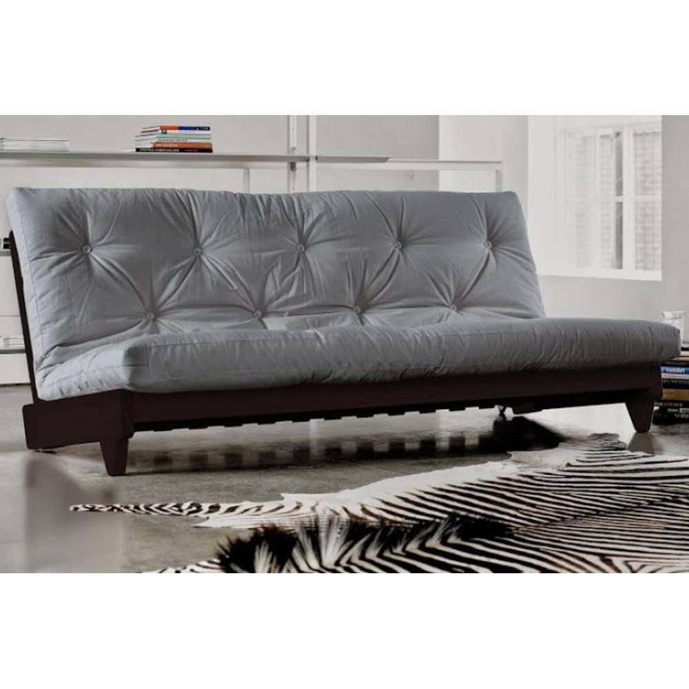 Canap s futon canap s syst me rapido banquette lit weng futon gris fresh 3 - Banquette futon convertible ...