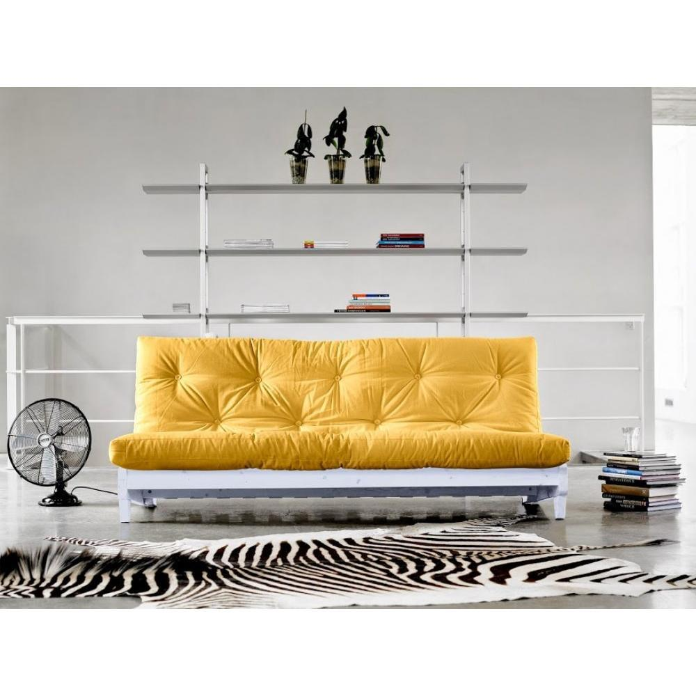 canap s futon canap s et convertibles banquette lit blanc futon jaune fresh 3 places. Black Bedroom Furniture Sets. Home Design Ideas