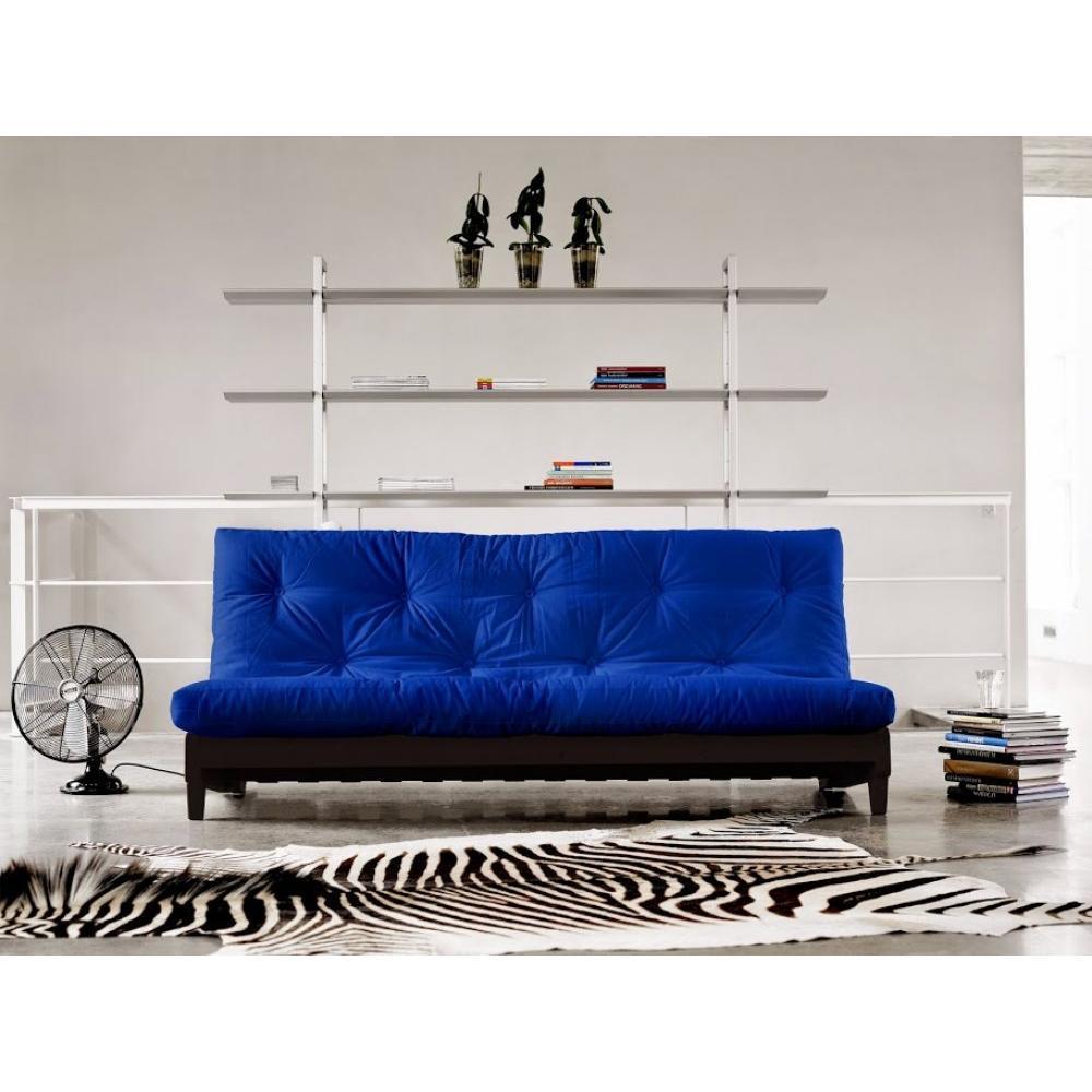canap s futon canap s et convertibles banquette lit weng futon bleu royal fresh 3 places. Black Bedroom Furniture Sets. Home Design Ideas
