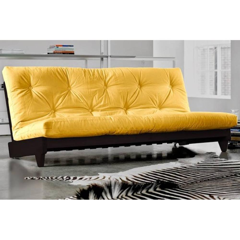 canap s futon canap s et convertibles banquette lit weng futon jaune fresh 3 places. Black Bedroom Furniture Sets. Home Design Ideas