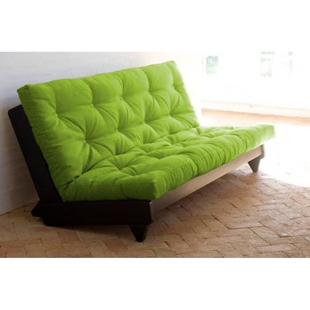 canap s futon canap s et convertibles banquette lit weng futon vert lime fresh 3 places. Black Bedroom Furniture Sets. Home Design Ideas
