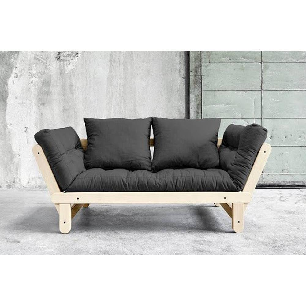 canap s futon canap s et convertibles banquette m ridienne style scandinave futon dark grey. Black Bedroom Furniture Sets. Home Design Ideas