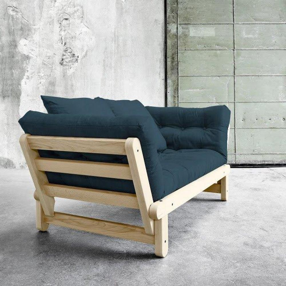 Canap s futon canap s et convertibles banquette m ridienne style scandinave - Banquette design scandinave ...