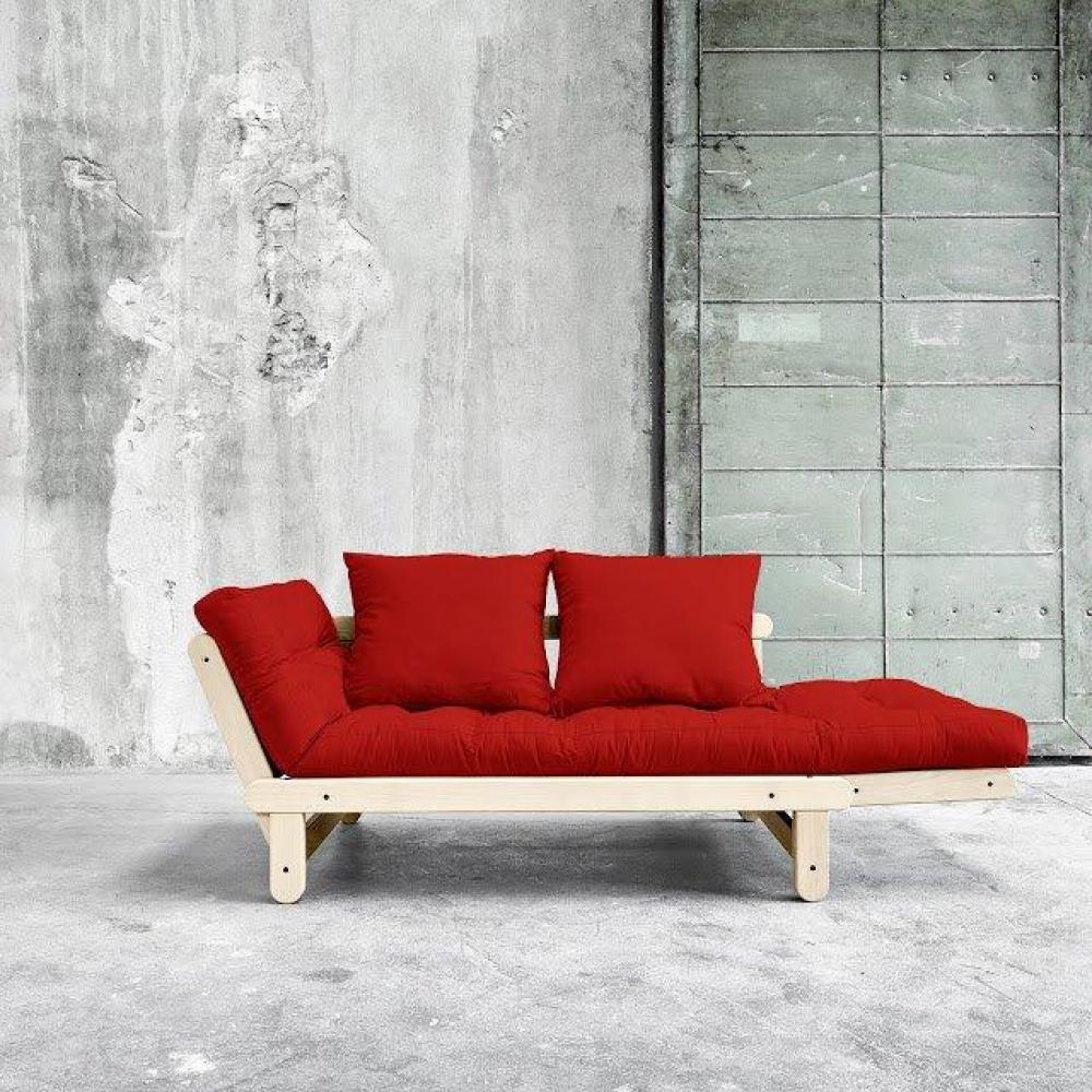 canap s futon canap s et convertibles banquette m ridienne style scandinave futon rouge beat. Black Bedroom Furniture Sets. Home Design Ideas