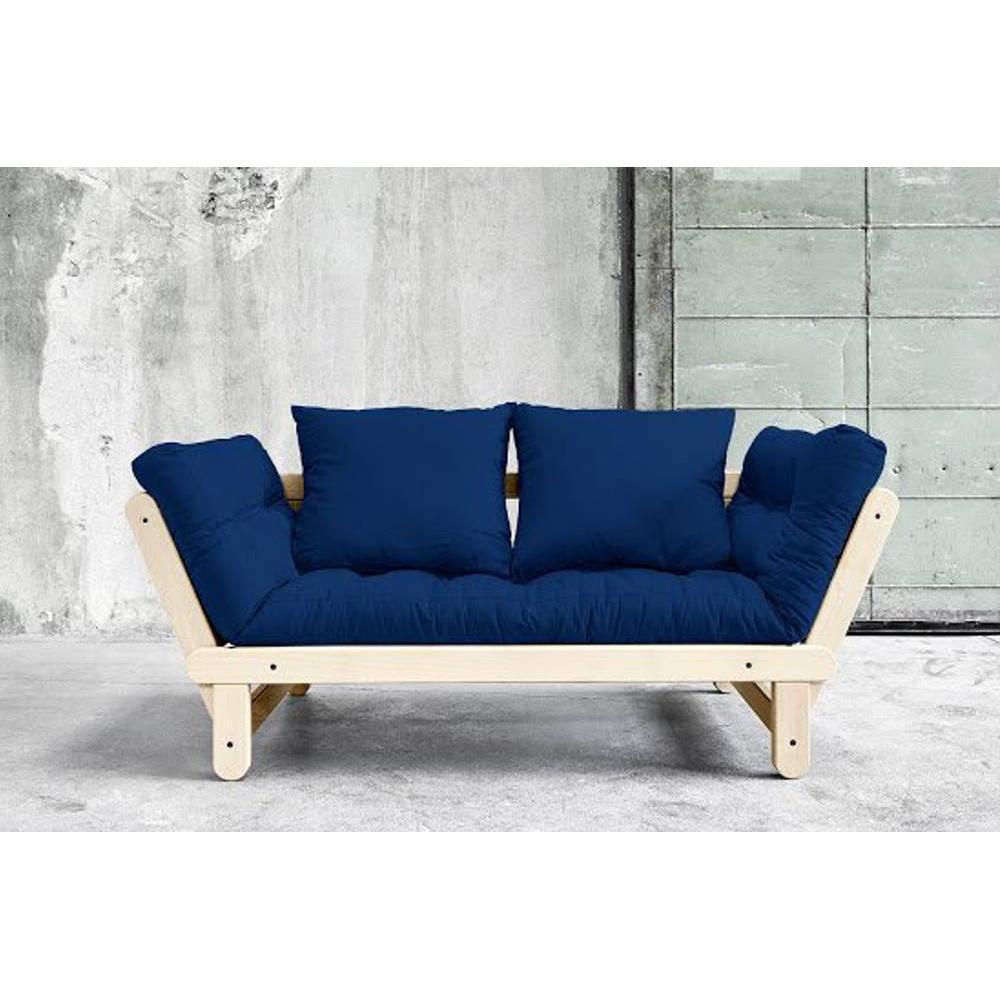canap s futon canap s et convertibles banquette m ridienne style scandinave futon bleu royal. Black Bedroom Furniture Sets. Home Design Ideas