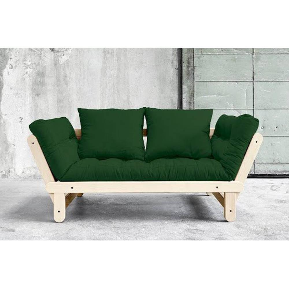canap s futon canap s et convertibles banquette m ridienne style scandinave futon vert beat. Black Bedroom Furniture Sets. Home Design Ideas