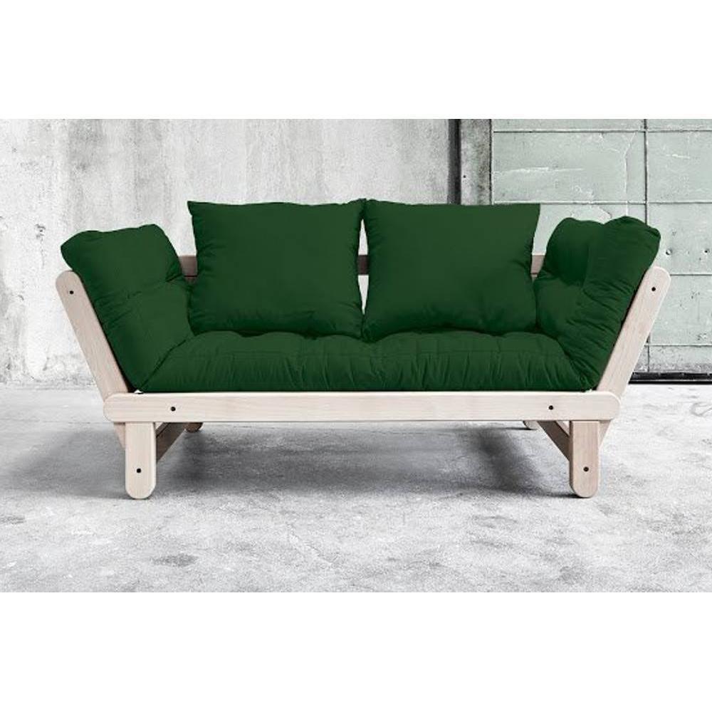 canap s futon canap s et convertibles banquette m ridienne convertible futon vert beat beech. Black Bedroom Furniture Sets. Home Design Ideas