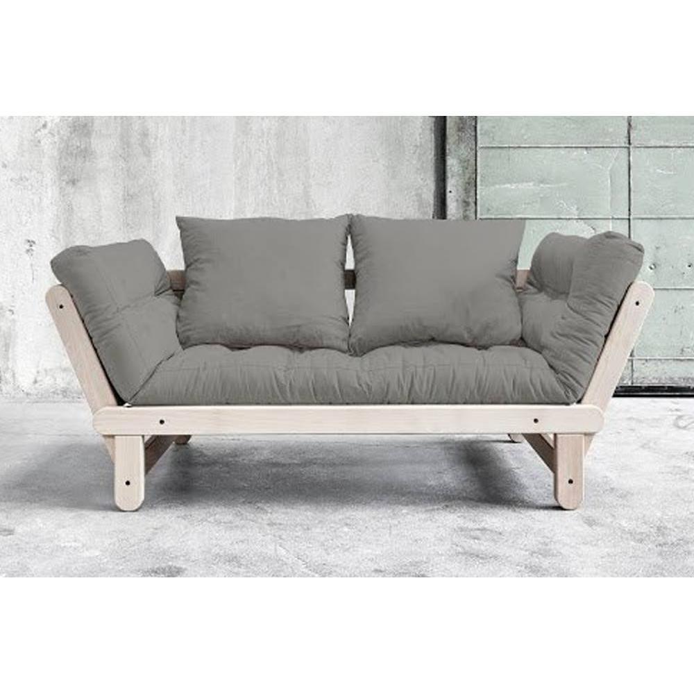 canap s futon canap s et convertibles banquette m ridienne convertible futon granite gris beat. Black Bedroom Furniture Sets. Home Design Ideas